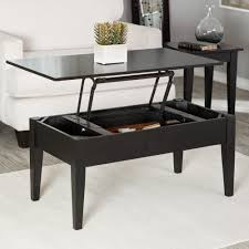 white lift top coffee table small end table with drawer espresso