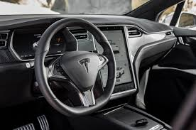 Tesla Interior Model S Unplugged Performance 2016 Tesla Model X 90d First Drive Review