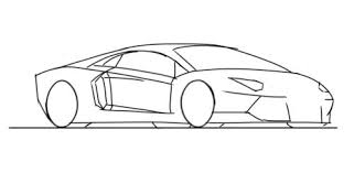 lamborghini car drawing how to draw a lamborghini aventador by junior car designer