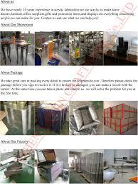 lucite waste paper basket acrylic storage box acrylic magazine