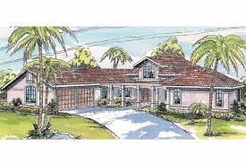 Spanish Homes Plans by Southwest House Plans Solano 11 005 Associated Designs