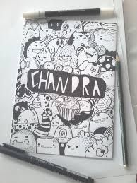 doodle name arts doodle name chandra by zamrudart on deviantart