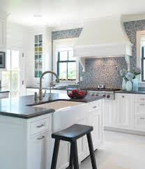 blue backsplash kitchen kitchen color 15 beautiful blue backsplashes