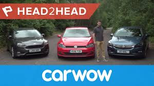 opel ford volkswagen golf vs ford focus vs vauxhall opel astra 2017 review