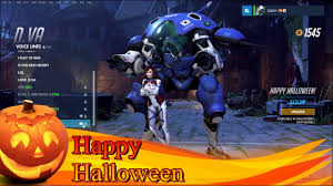 dva halloween spray overwatch dva happy halloween youtube