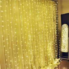 cheap 2016 curtain string lights garden lamps new year christmas