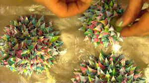 3d cone paper christmas trees mp4 youtube