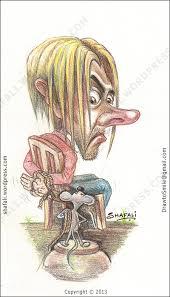 caricature cartoon u2013 the captive u2013 caught by color pencils