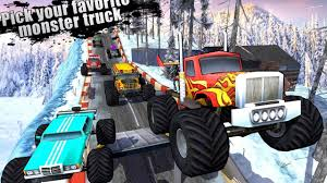 monster truck racing video offroad hill climber legends