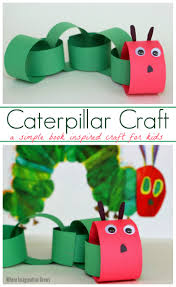 paper chain caterpillar craft for kids where imagination grows