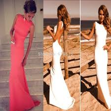 aliexpress com buy romantic white coral bridesmaid dresses