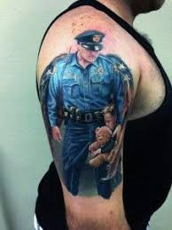 police memorial tattoo google search cops pinterest police