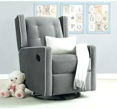 Nursery Rocker Recliner Rocker Glider Chair Canada Furniture Gray Nursery Recliner Grey