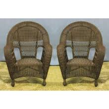 Wicker High Back Dining Chair All About Wicker