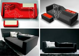 creatively designed modern couches with a twist