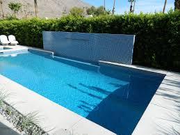 south palm springs pool u0026 spa remodel water feature wall desert
