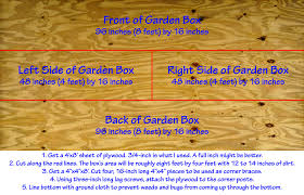 backyard raised vegetable garden construction how to instructions