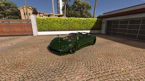 pagani gta 5 paint released pagani zonda verde gta5 mods com forums