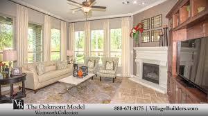 the oakmont model tour village builders houston youtube