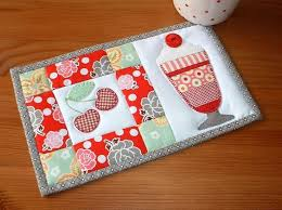 Mug Rug Kits 1259 Best Table Runners Placemats Mug Rugs Images On Pinterest
