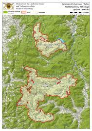 Black Forest Germany Map Nationalpark Renchtal Im Schwarzwald Ganz Vorn