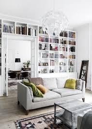 Pillows For Grey Sofa Bookshelf Amazing Living Room Bookshelf Wood Bookcases For Living