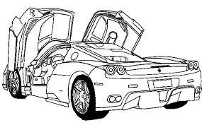 car coloring pages ferrari coloring pages ideas