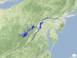 Michaux State Forest Map by Unpaved Roads In Maryland