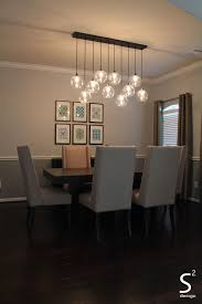 Dining Room Pendant Light Fixtures Dining Room Green Curtains Blue Glass Chandelier High Back Dining