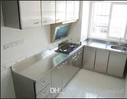 Metal Kitchen Cabinet Doors Groß Stainless Kitchen Cabinet Doors Steel Innovative