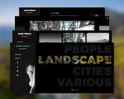 photographers websites photography portfolio website psd templates psd