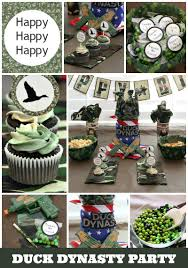Duck Dynasty Home Decor Duck Dynasty Birthday Party Around My Family Table