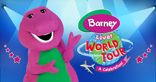 barney live tour touring