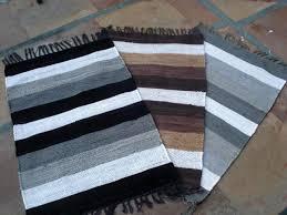 buy cotton chindi rug from goyal handloom product agra india