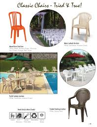 Miami Bistro Chair Commercial Outdoor Furniture