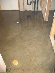 flood proof your basement floor with decorative concrete seattle