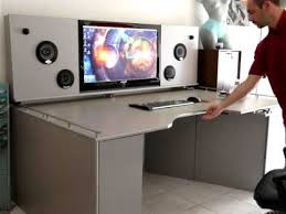 sur bureau bureau high tech sur mesure solution31