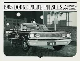1965 dodge coronet police car 60s police ads vintage police or