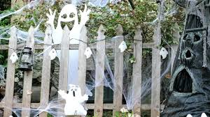 halloween ghost yard spooky decorations youtube