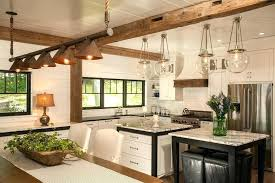 hanging kitchen table lights rustic kitchen pendant lights rustic copper and glass lighting