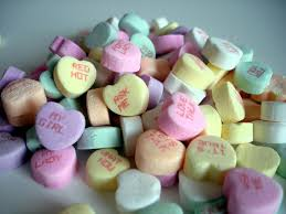 heart candies girl finds message on candy heart parenting