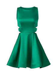 emerald cutout dress by cynthia rowley for 60 rent the runway