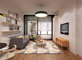 Interior Design Ideas For Living Rooms In Malaysia Malaysian X Scandinavian Studio Home On Behance