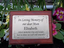 grey granite plaque can be personalized co uk