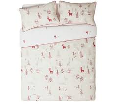 Christmas Duvet Cover Sets Buy Collection Nordic Christmas Bedding Set Single At Argos Co