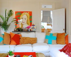 Bright Colors Houzz - Bright colors living room