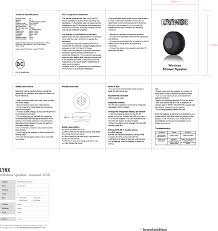 bts 06 wireless shower speaker users manual