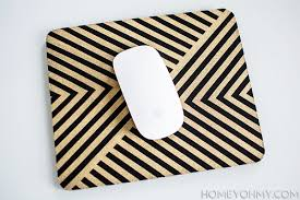mousepad designen diy gold mouse pad homey oh my