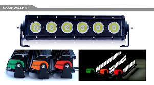 cob led light bar 60w cob led bar waterproof bumper offroad motorcycle jeep rally led