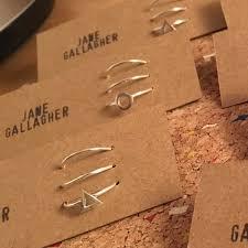 knuckle rings images Knuckle rings set of 3 sterling silver jewellery handmade by jpg
